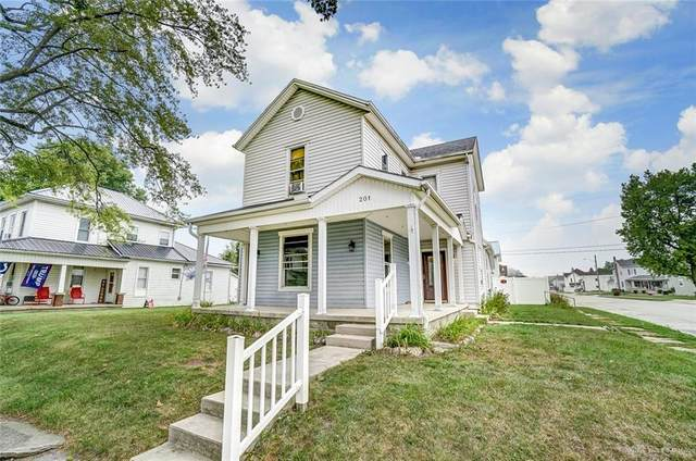 201 W 2nd Street, Arcanum, OH 45331 (MLS #825042) :: The Westheimer Group