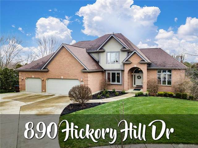 890 Hickory Hill Drive, Tipp City, OH 45371 (MLS #832568) :: The Gene Group