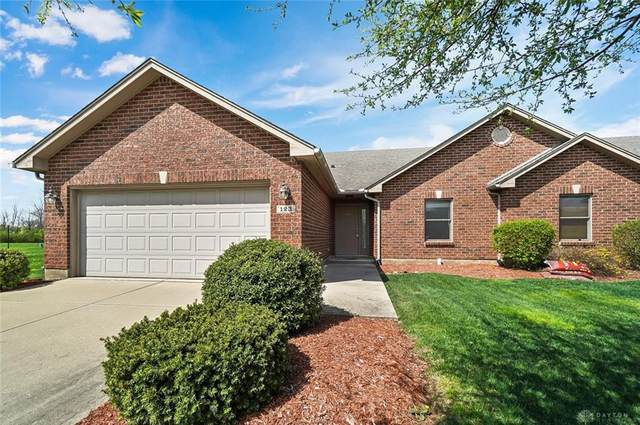 123 Burgundy Drive, Englewood, OH 45322 (MLS #837612) :: The Westheimer Group