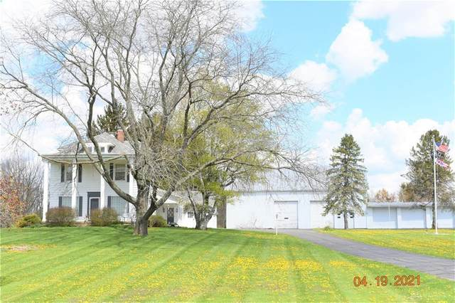 2025 State Route 36, Piqua, OH 45356 (MLS #837642) :: The Gene Group