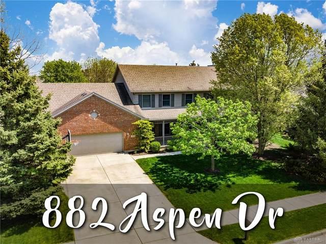 882 Aspen Drive, Tipp City, OH 45371 (MLS #838395) :: The Gene Group