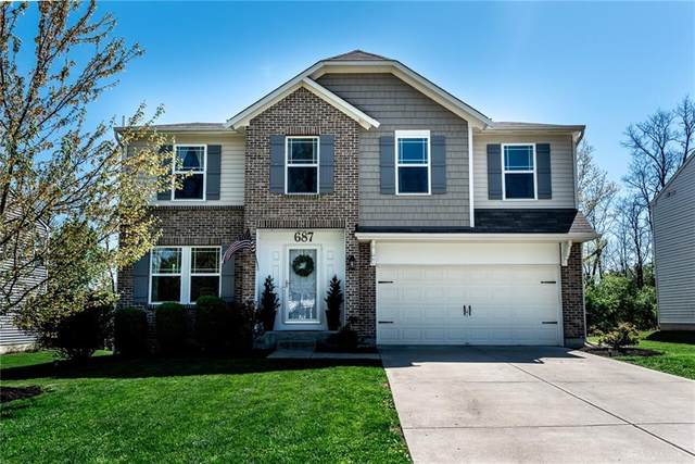 687 Grande Oaks Drive, Hamilton Twp, OH 45152 (MLS #838730) :: The Gene Group