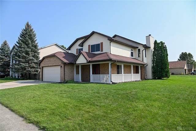 6650 Deer Bluff Drive, Huber Heights, OH 45424 (MLS #849417) :: The Gene Group