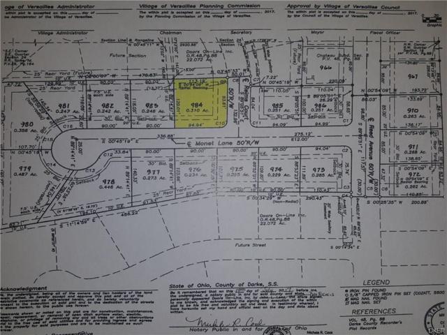 000 South Corner Of Monet Lane, Versailles, OH 45380 (MLS #753136) :: Denise Swick and Company