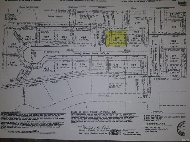000 North Corner Of Monet Lane, Versailles, OH 45380 (MLS #753137) :: Denise Swick and Company