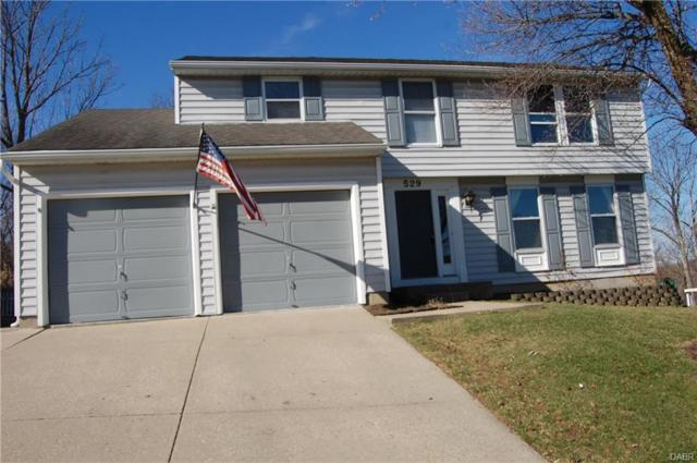 529 Fitzooth Drive, Miamisburg, OH 45342 (MLS #756946) :: The Gene Group
