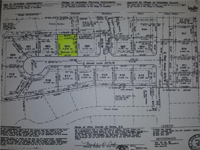 82 Monet Lane, Versailles, OH 45380 (MLS #753635) :: Denise Swick and Company