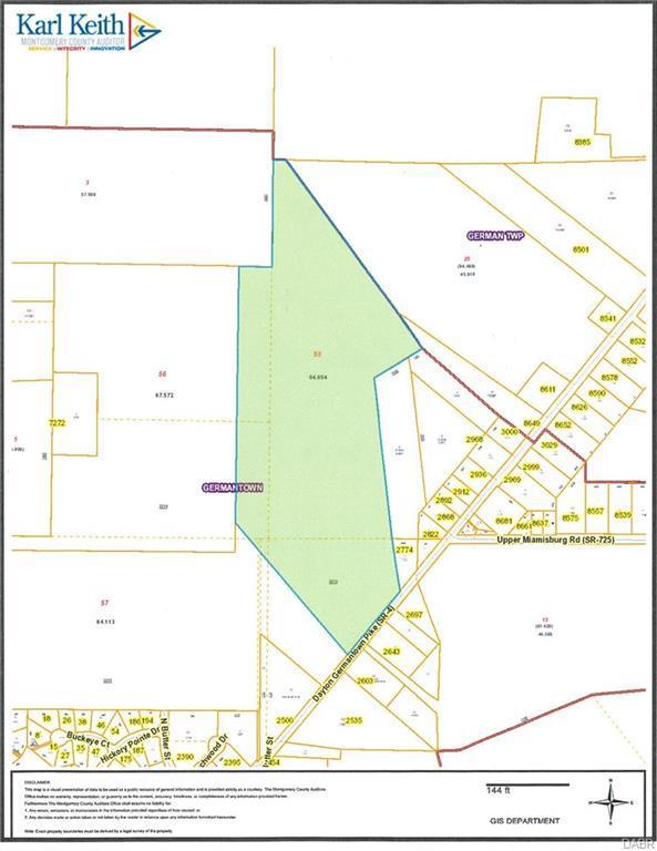 0 Dayton Germantown Pk. Pike, Germantown, OH 45327 (MLS #765088) :: The Gene Group