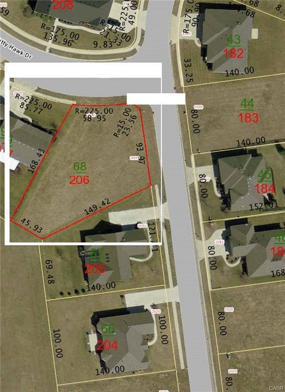 lot # 206 Kitty Hawk Drive, Xenia, OH 45385 (MLS #767857) :: Jon Pemberton & Associates with Keller Williams Advantage