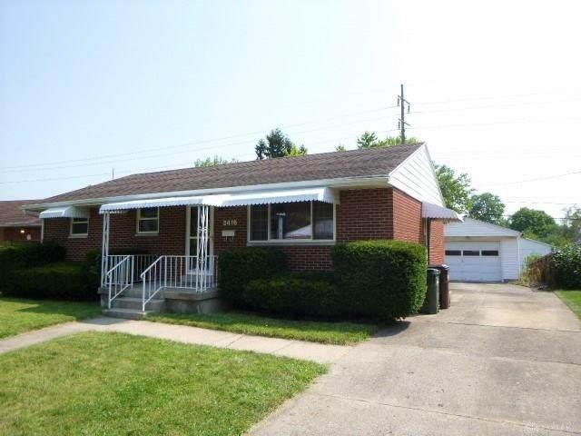 3416 Stocker Drive, Kettering, OH 45429 (#824480) :: Century 21 Thacker & Associates, Inc.