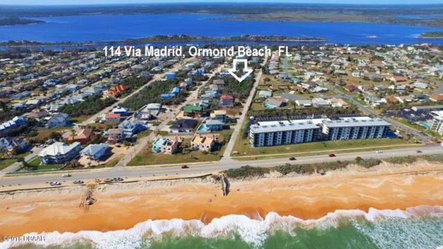 114 Via Madrid Drive, Ormond Beach, FL 32176 (MLS #1040680) :: Memory Hopkins Real Estate