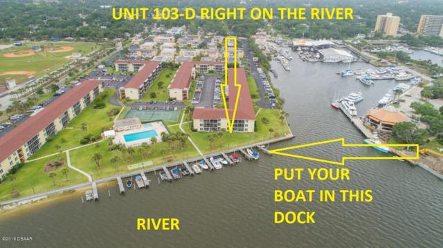 715 S Beach Street 103D, Daytona Beach, FL 32114 (MLS #1042255) :: Memory Hopkins Real Estate