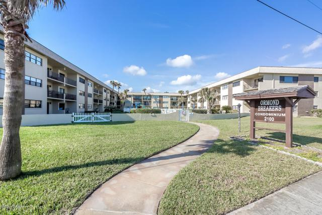 2100 Ocean Shore Boulevard #101, Ormond Beach, FL 32176 (MLS #1044099) :: Beechler Realty Group
