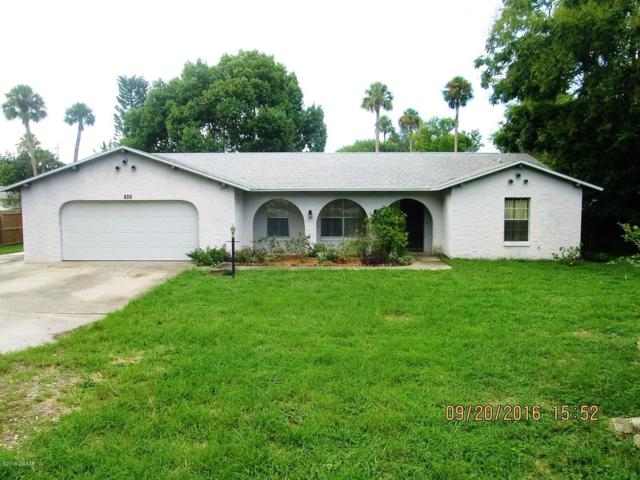 826 Reed Canal Road, South Daytona, FL 32119 (MLS #1050175) :: Beechler Realty Group