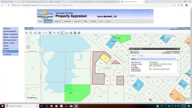 2504 Maximus Court, Deltona, FL 32738 (MLS #1050451) :: Beechler Realty Group