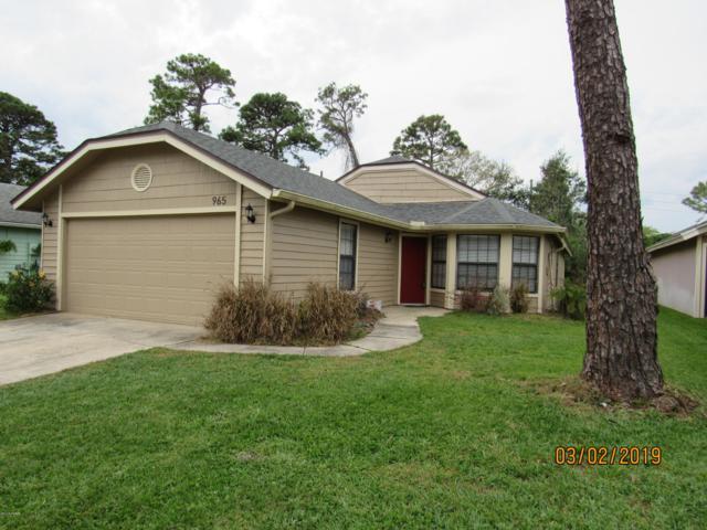 965 Belleflower Drive `, Port Orange, FL 32127 (MLS #1054598) :: Cook Group Luxury Real Estate