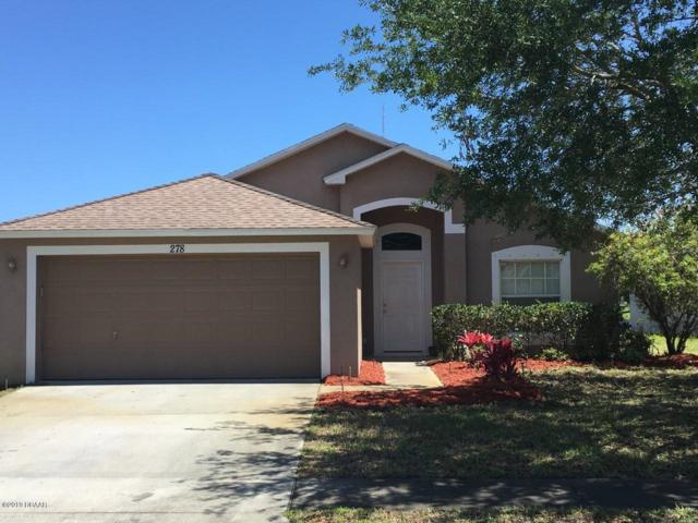 278 Dahoon Holly Drive, Daytona Beach, FL 32117 (MLS #1054684) :: Cook Group Luxury Real Estate