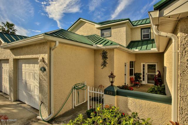 419 Bouchelle Drive, New Smyrna Beach, FL 32169 (MLS #1055326) :: Cook Group Luxury Real Estate