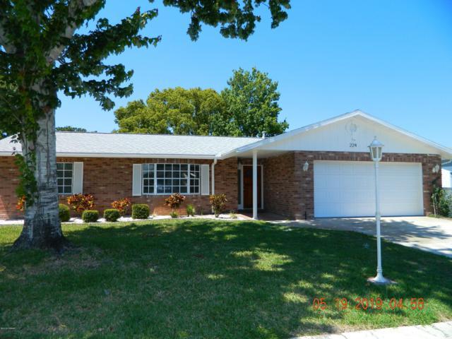 224 Georgetowne Boulevard, Daytona Beach, FL 32119 (MLS #1057752) :: Florida Life Real Estate Group
