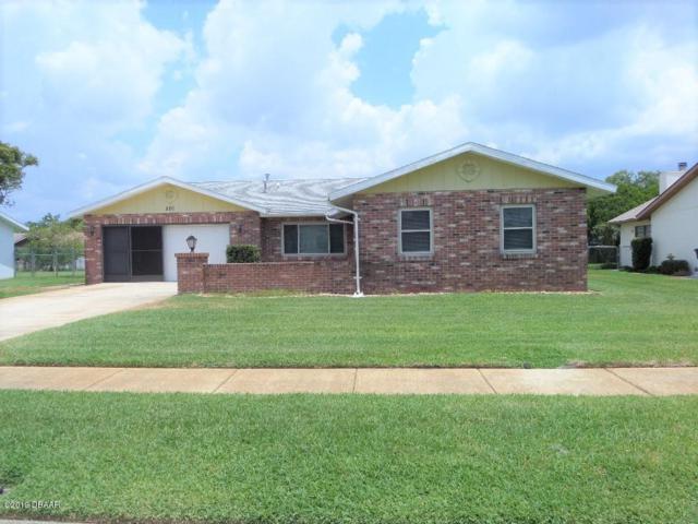 220 Gettysburg Lane, Daytona Beach, FL 32119 (MLS #1058367) :: Florida Life Real Estate Group