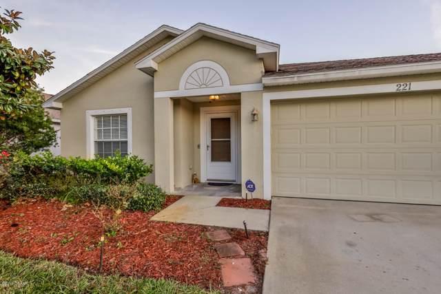 221 Brass Wood Court, Daytona Beach, FL 32117 (MLS #1064861) :: Memory Hopkins Real Estate