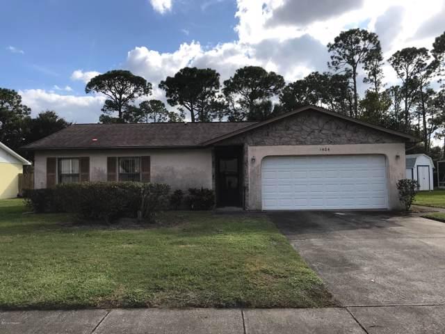 1404 W Harnden Road, Port Orange, FL 32129 (MLS #1064892) :: Memory Hopkins Real Estate