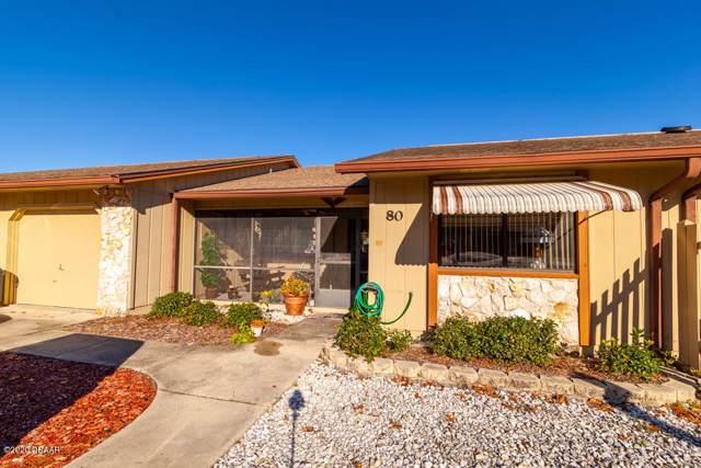 80 Crooked Pine Road, Port Orange, FL 32128 (MLS #1066221) :: Memory Hopkins Real Estate