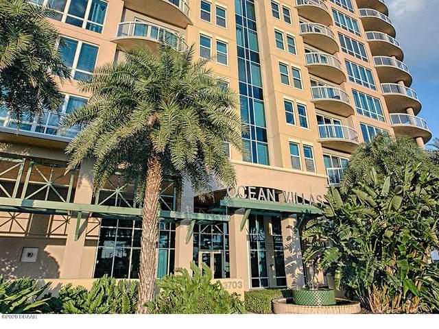 3703 S Atlantic Avenue #504, Daytona Beach Shores, FL 32118 (MLS #1069542) :: Cook Group Luxury Real Estate