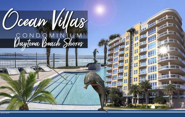 3703 S Atlantic Avenue #1104, Daytona Beach Shores, FL 32118 (MLS #1071521) :: Memory Hopkins Real Estate