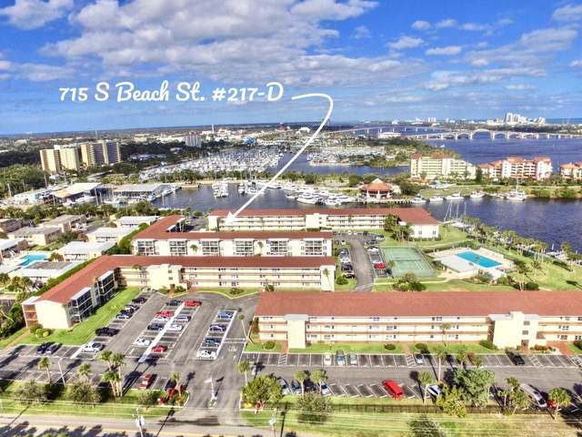 715 S Beach Street 217D, Daytona Beach, FL 32114 (MLS #1071705) :: Memory Hopkins Real Estate
