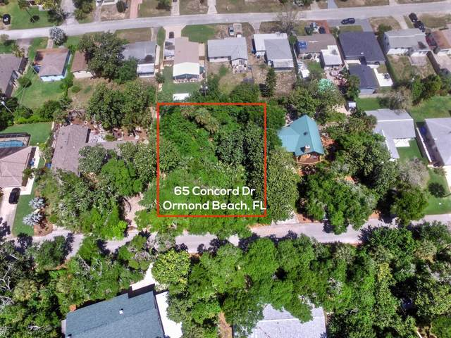 65 Concord Drive, Ormond Beach, FL 32176 (MLS #1071716) :: Florida Life Real Estate Group