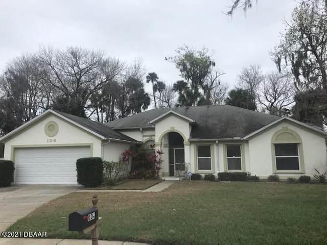 104 Brookhollow Circle, Daytona Beach, FL 32114 (MLS #1081148) :: Cook Group Luxury Real Estate