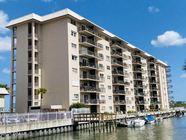 101 N Riverside Drive #214, New Smyrna Beach, FL 32168 (MLS #1081167) :: NextHome At The Beach