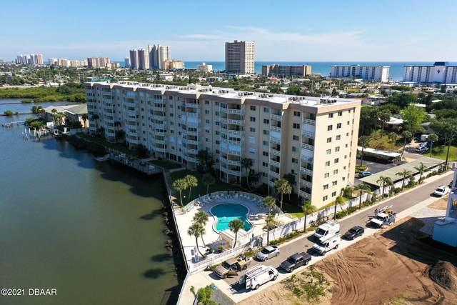 3606 S Peninsula Drive #606, Port Orange, FL 32127 (MLS #1083576) :: Memory Hopkins Real Estate
