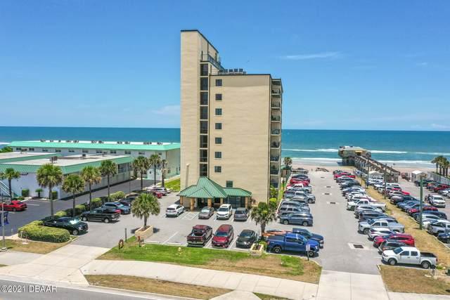 3647 S Atlantic Avenue 8C, Daytona Beach Shores, FL 32118 (MLS #1085013) :: NextHome At The Beach II