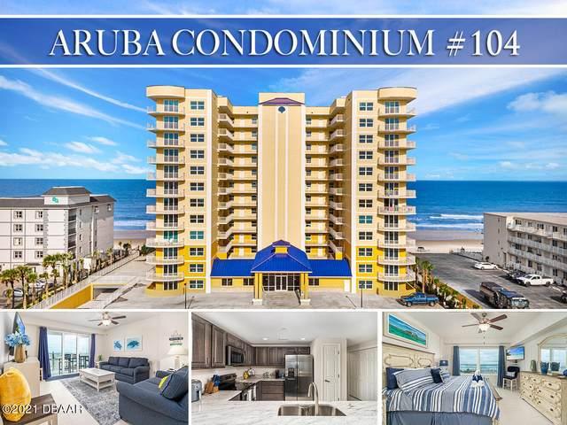3721 S Atlantic Avenue #104, Daytona Beach Shores, FL 32118 (MLS #1087626) :: Momentum Realty