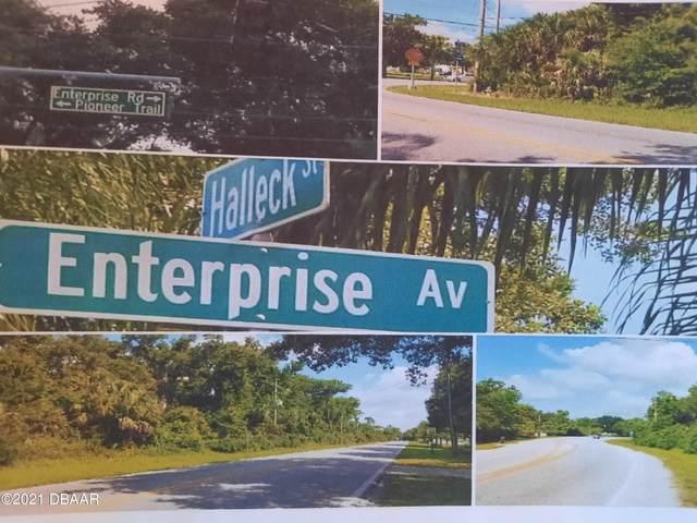 Halleck Halleck & Enterprise, New Smyrna Beach, FL 32168 (MLS #1088328) :: NextHome At The Beach II