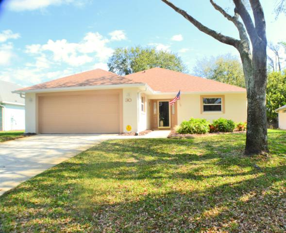 30 Sherrington Drive, Ormond Beach, FL 32174 (MLS #1054671) :: Cook Group Luxury Real Estate