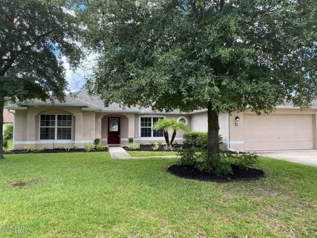 33 Esperanto Drive, Palm Coast, FL 32164 (MLS #1072651) :: Cook Group Luxury Real Estate
