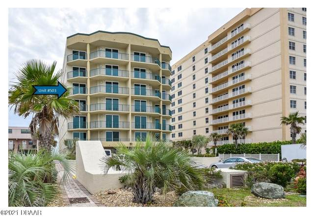 3797 S Atlantic Avenue #503, Daytona Beach Shores, FL 32118 (MLS #1085534) :: NextHome At The Beach
