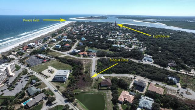 8 Aqua Clara, Ponce Inlet, FL 32127 (MLS #1052582) :: Cook Group Luxury Real Estate