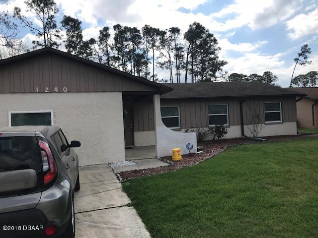 1240 Eddie Drive, Port Orange, FL 32129 (MLS #1039532) :: Beechler Realty Group