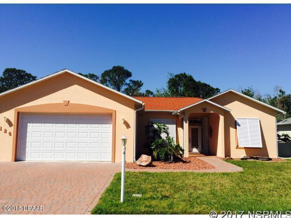 126 San Remo Drive, Edgewater, FL 32141 (MLS #1045580) :: Beechler Realty Group