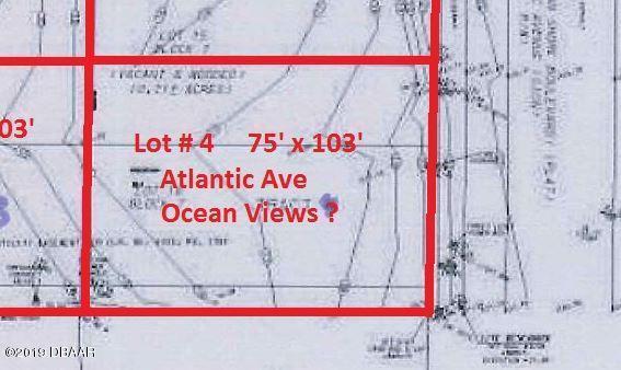 0 S Atlantic Avenue, Daytona Beach Shores, FL 32118 (MLS #1053884) :: Florida Life Real Estate Group