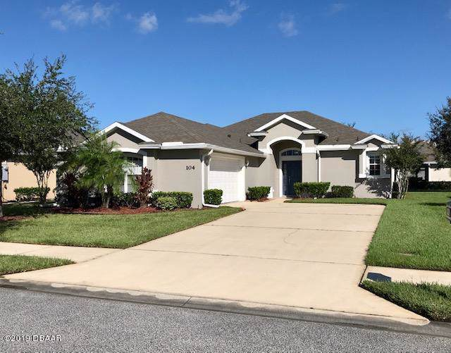 104 Mcgill Circle, Daytona Beach, FL 32124 (MLS #1063315) :: Cook Group Luxury Real Estate