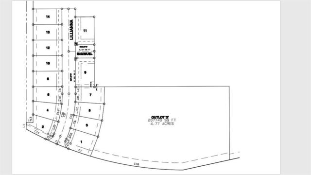 Lot 12 Lillianna Street, Patterson, IA 50218 (MLS #556492) :: Pennie Carroll & Associates
