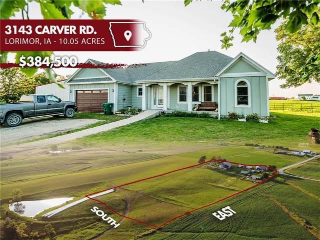 3143 Carver Road, Lorimor, IA 50149 (MLS #633112) :: Moulton Real Estate Group