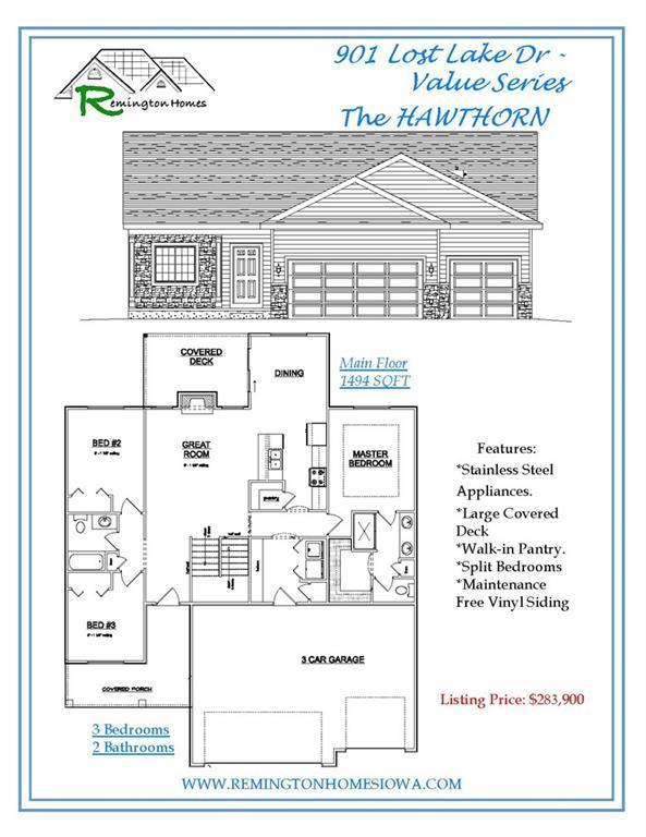 901 Lost Lake Drive, Polk City, IA 50226 (MLS #569604) :: Colin Panzi Real Estate Team