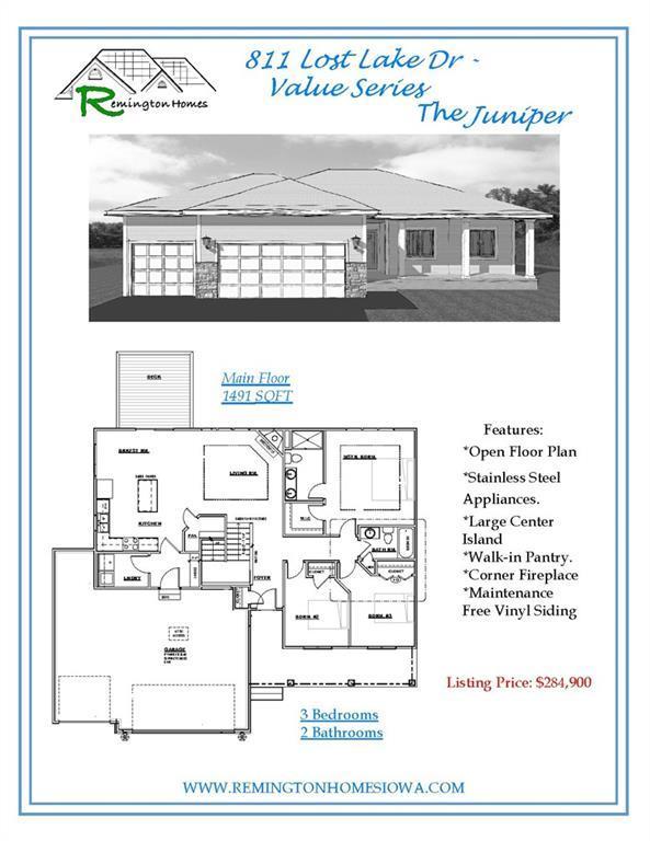811 Lost Lake Drive, Polk City, IA 50226 (MLS #570931) :: Colin Panzi Real Estate Team