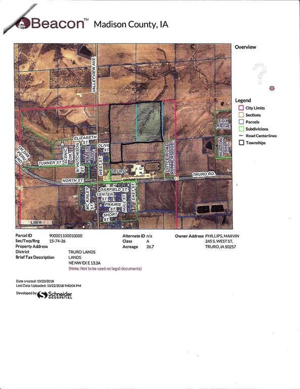parcel Section 15 Street, Truro, IA 50257 (MLS #572436) :: Colin Panzi Real Estate Team